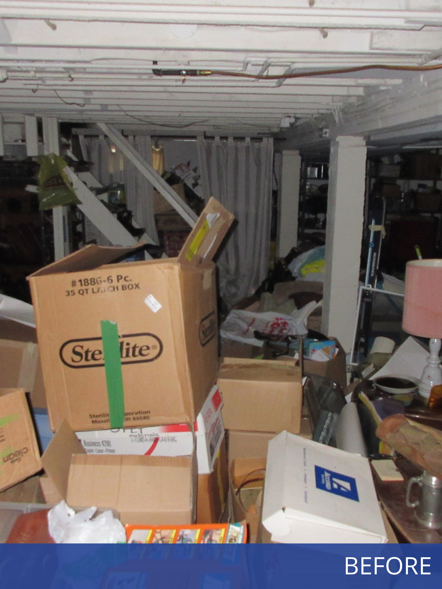 Photo of basement